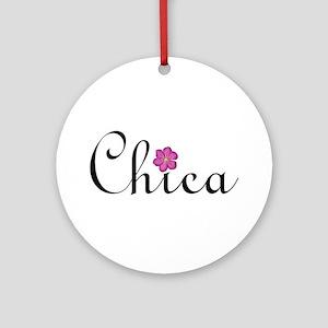 """Chica"" Ornament (Round)"