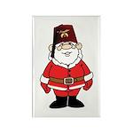 Santa The Shriner Rectangle Magnet (10 pack)