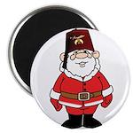 Santa The Shriner Magnet