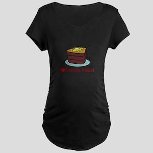 French Toast Maternity Dark T-Shirt