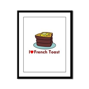 French Toast Framed Panel Print