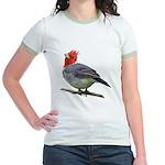 Cardinal Green Jr. Ringer T-Shirt