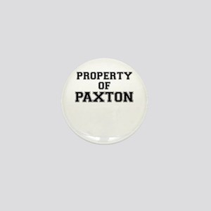 Property of PAXTON Mini Button