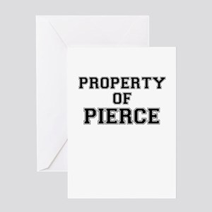 Property of PIERCE Greeting Cards