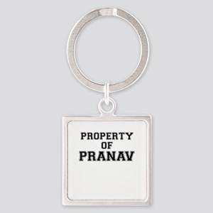 Property of PRANAV Keychains