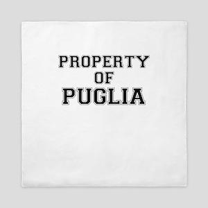 Property of PUGLIA Queen Duvet