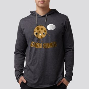 Cookies and Milk Mens Hooded Shirt