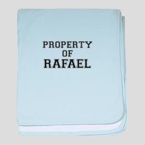 Property of RAFAEL baby blanket
