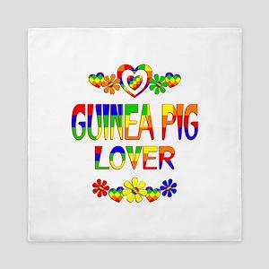 Guinea Pig Lover Queen Duvet