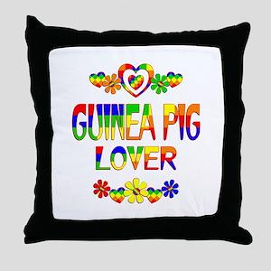 Guinea Pig Lover Throw Pillow