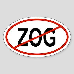 ZOG Oval Sticker