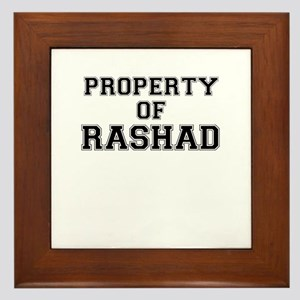 Property of RASHAD Framed Tile