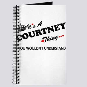 COURTNEY thing, you wouldn't understand Journal
