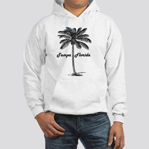 Black and White Tampa & Palm des Hooded Sweatshirt