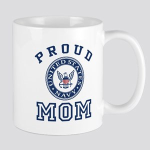 Proud US Navy Mom Mug