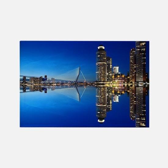 Cute Rotterdam Rectangle Magnet