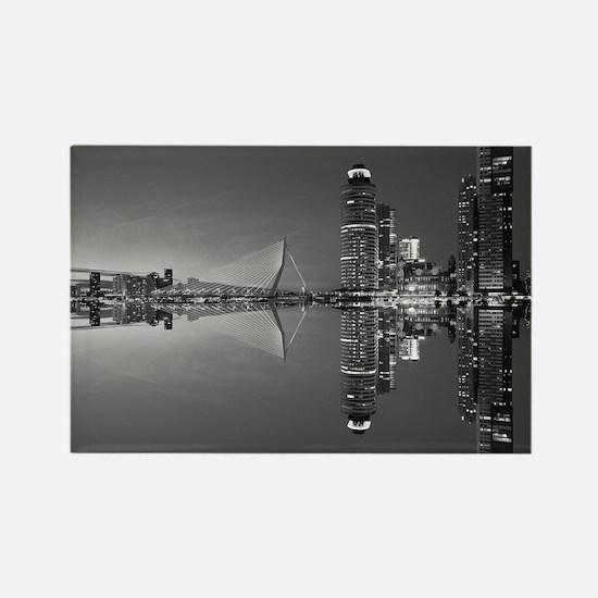 Unique Rotterdam Rectangle Magnet