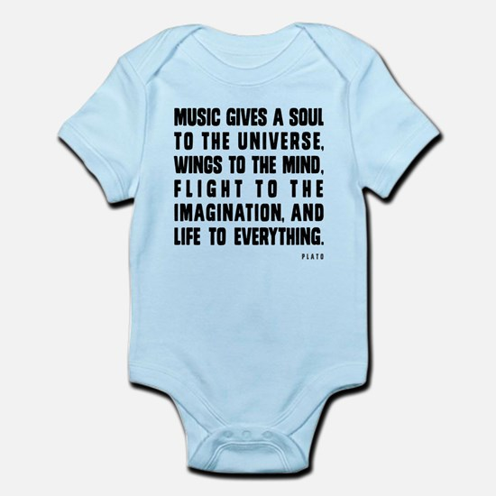 Music Gives A Soul To The Universe Body Suit