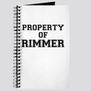 Property of RIMMER Journal