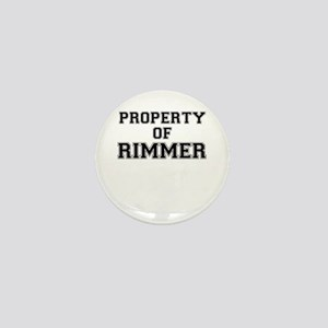 Property of RIMMER Mini Button