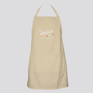 STELLA thing, you wouldn't understand Apron