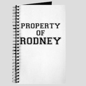 Property of RODNEY Journal