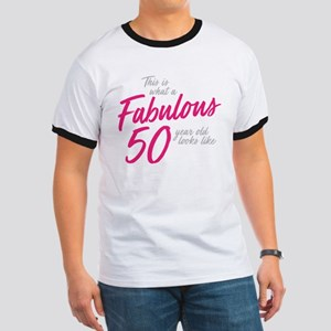 Fabulous and 50 Ringer T