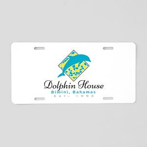 Dolphin House Bimini, Aluminum License Plate