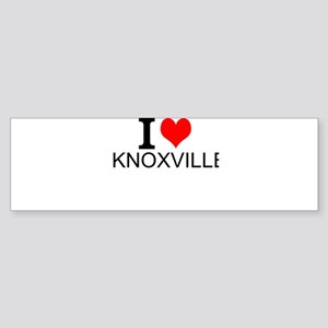 I Love Knoxville Bumper Sticker