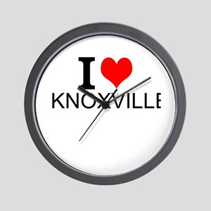 I Love Knoxville Wall Clock