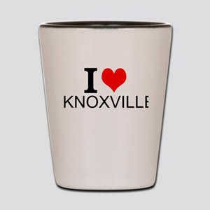 I Love Knoxville Shot Glass