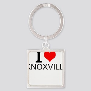 I Love Knoxville Keychains