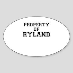 Property of RYLAND Sticker