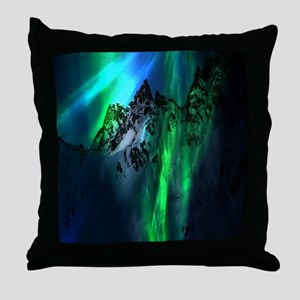 Song of the Mountains Throw Pillow