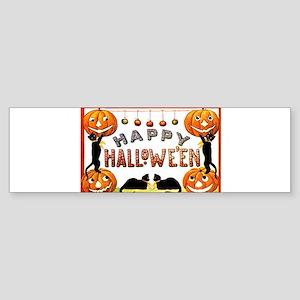 Happy Halloween - Ellen Clapsaddle Bumper Sticker