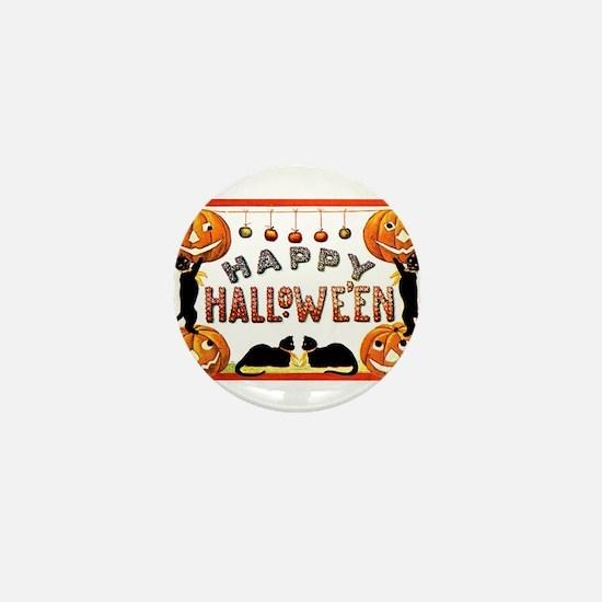 Happy Halloween - Ellen Clapsaddle Mini Button