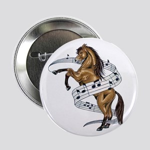 "Musical Horse 2.25"" Button (10 pack)"