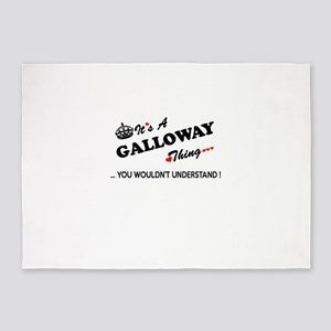 GALLOWAY thing, you wouldn't unders 5'x7'Area Rug