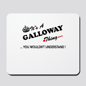 GALLOWAY thing, you wouldn't understand Mousepad