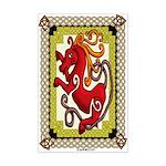 Celtic Horse Mini Poster Print