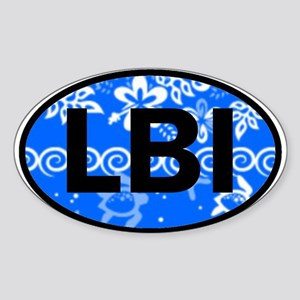 LBI OVAL - NEW Oval Sticker