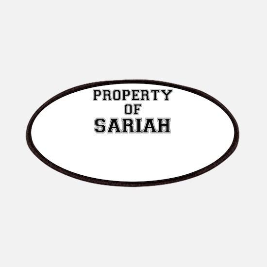 Property of SARIAH Patch
