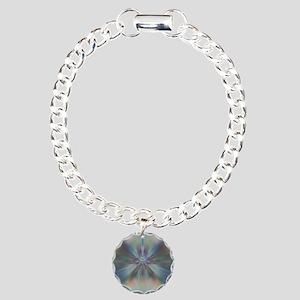 Peaceful Color Convergen Charm Bracelet, One Charm