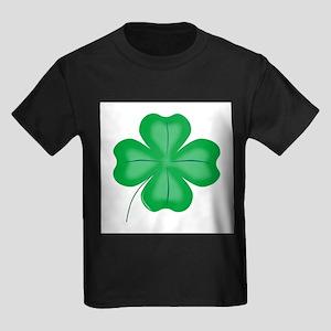 Lucky Four Leaf Shamrock T-Shirt