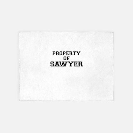 Property of SAWYER 5'x7'Area Rug