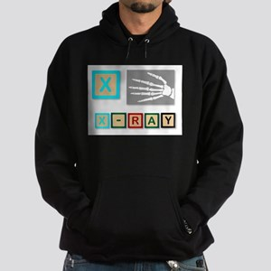 X Is For X Ray Hoodie (dark)