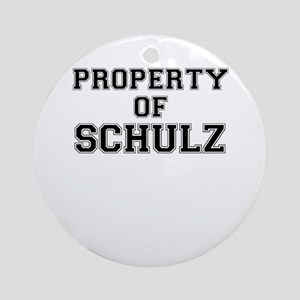 Property of SCHULZ Round Ornament