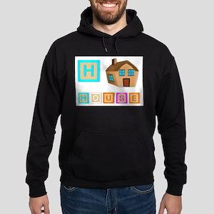H Is For House Hoodie (dark)