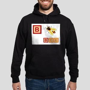 B Is For Bee Hoodie (dark)