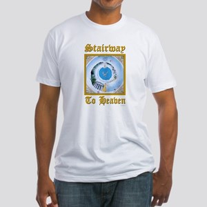 Stairway To Heaven Fitted T-Shirt